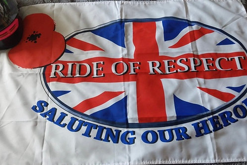 Ride of Respect Flag