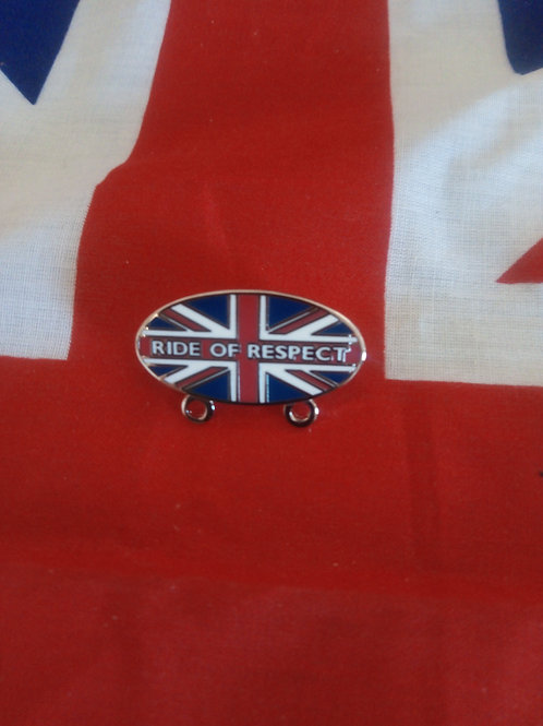 Ride of Respect Badge