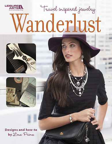 """Wanderlust"" Jewelry Book by Lena Prima"