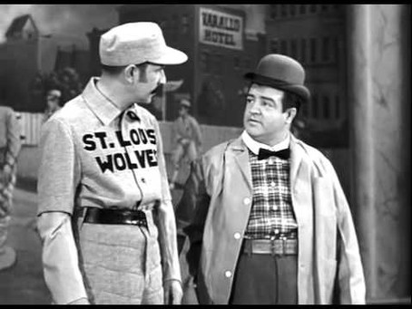 Abbott & Costello For Modern Times: Who's on First?