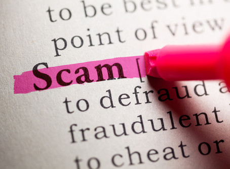 Scammers -- How do we stop them?