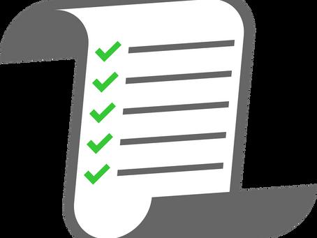 COVID Can-Do List