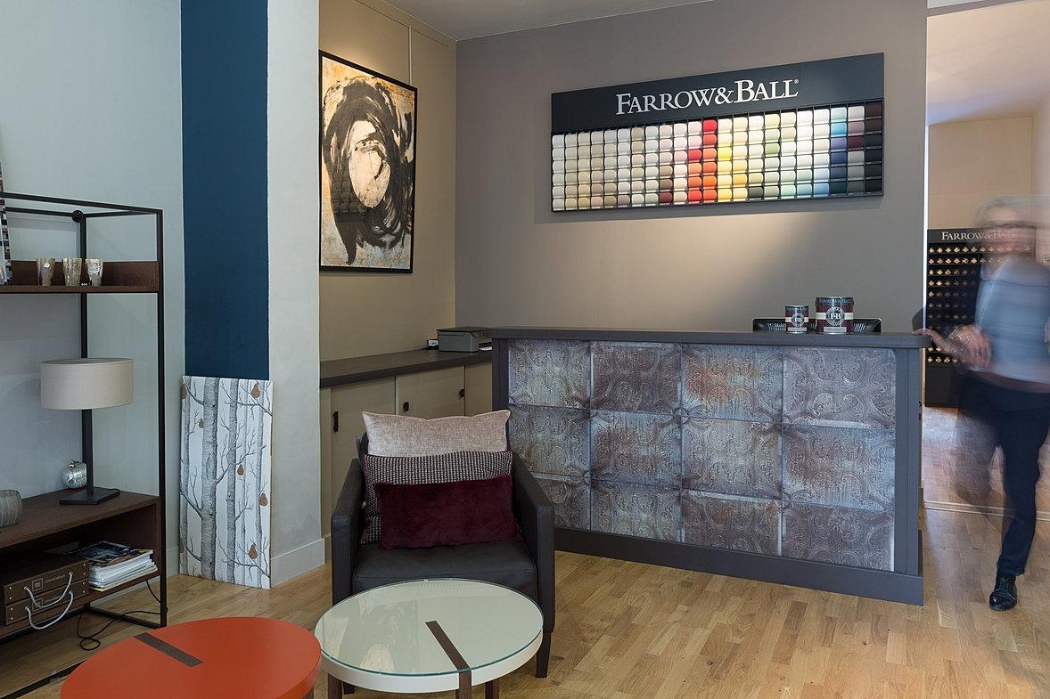 secrets d 39 atelier peinture farrow ball papier peint toulouse. Black Bedroom Furniture Sets. Home Design Ideas