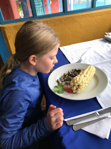Thank God for buttered Noodles and other thoughts on traveling with kids