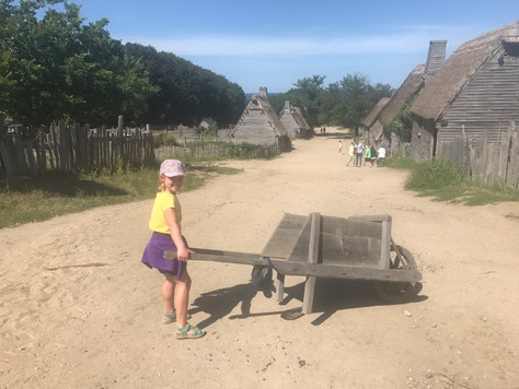 Visit to the Plymouth Plantation