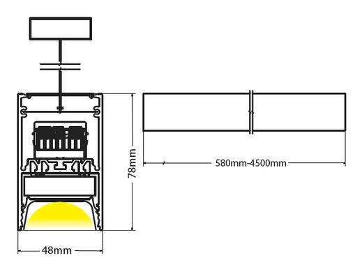 Beam pendant diagram
