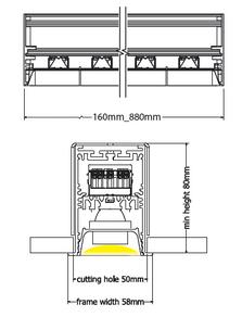 Sirus recessed diagram
