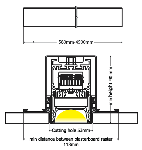 Beam trimless diagram