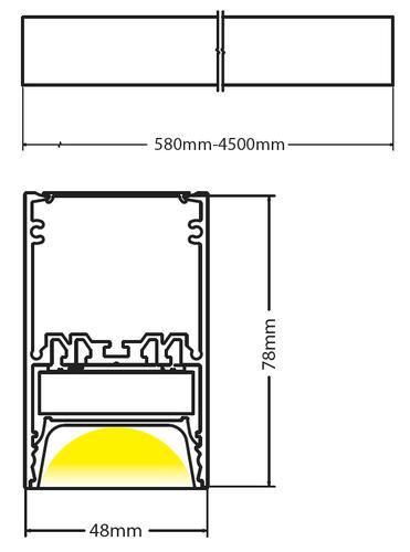 Beam ceiling diagram