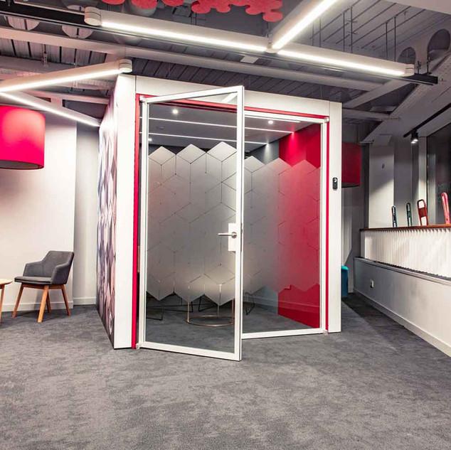 Creatif booth