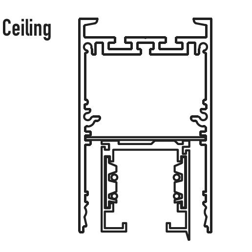 Altair product diagram - Ceiling