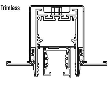 Altair product diagram - Trimless