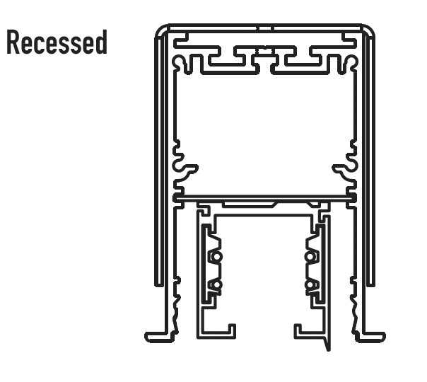 Altair product diagram - Recessed
