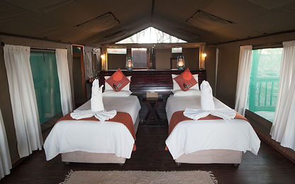 Moremi Crossing Lodge Room