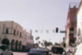 Venice beach sign, Los angels, California.