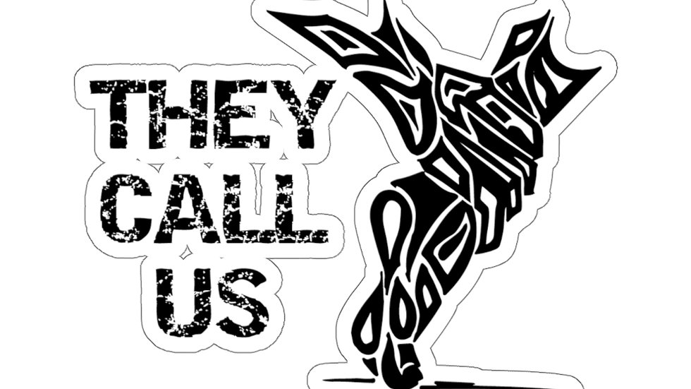 They Call Us Logo sticker 1