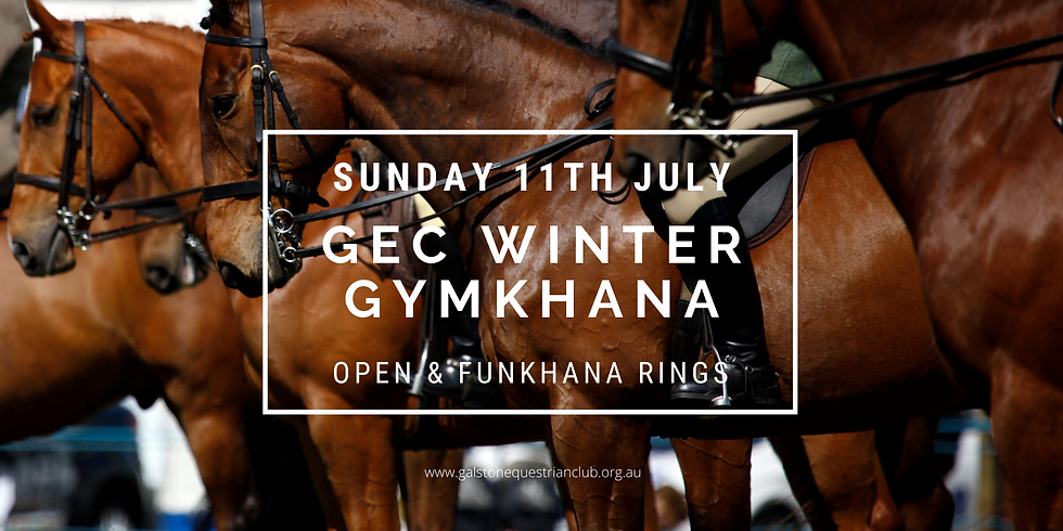 GEC Winter Gymkhana