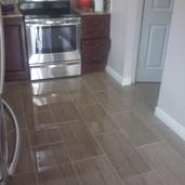 Kitchen Backsplash and Floor tile installer