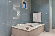 Tile contractors in Mississauga Brampton. Large format glass tiles are also tops in popularity for backsplashes.Large format glass tiles provide a continuous wash of shimmering color to create the illusion of a solid surface.