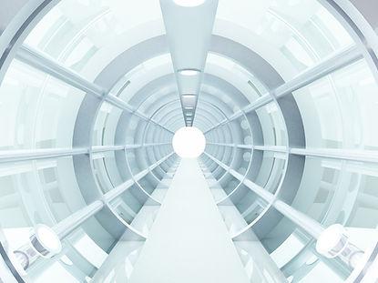 futuristisch Tunnel