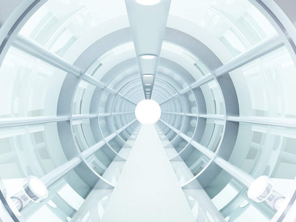 fütüristik Tünel