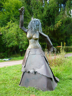 danseuse flamenco(pierre métal).JPG