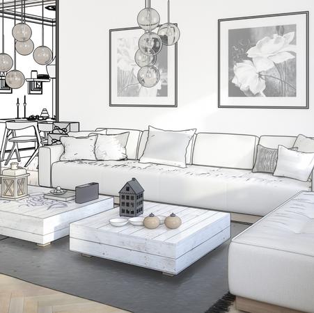 Simulazione fotorealistica: il render 3D per arredare casa