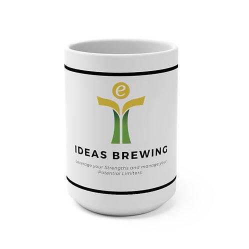 Yellow/Green Mug 15oz