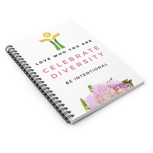 Celebrate Diversity Notebook Yellow/Green