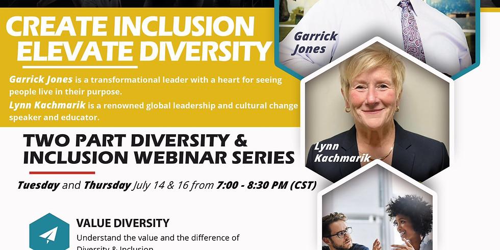 FREE: Diversity & Inclusion Webinar Series