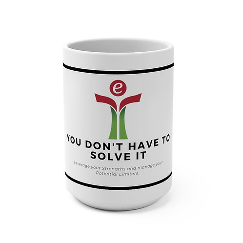 Red/Green Mug 15oz