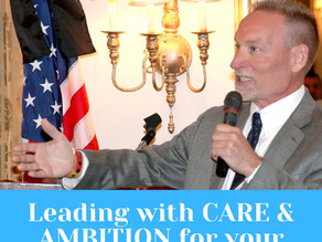 Leading with Care and Ambition - Lessons from a Fortune 100 Executive Leader