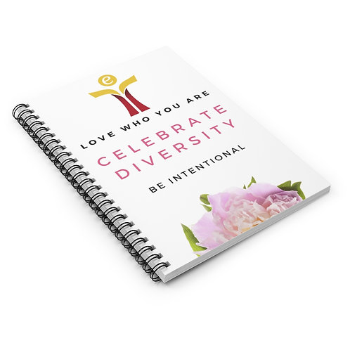 Celebrate Diversity Notebook Yellow/Red