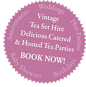 vintage tea set hire, tea party catering and tea party hosting, wedding tea party, hen party, hen do, baby shower, anniversary, afternoon tea china hire