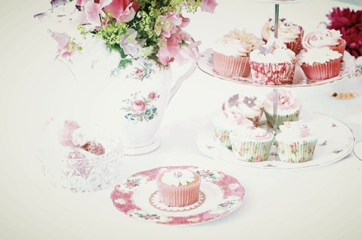 derbyshire vintage tea set hire