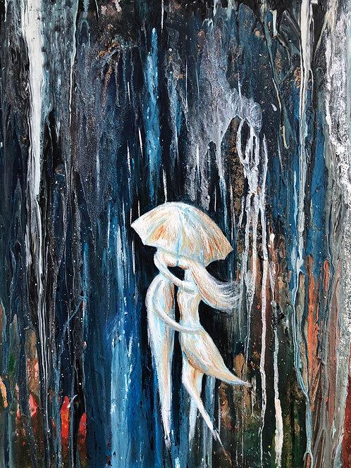 Love Between Dimensions - Acrylic canvas