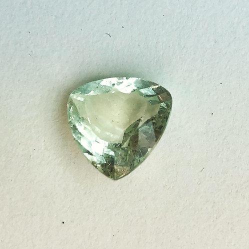 Faceted Aqua marine stone
