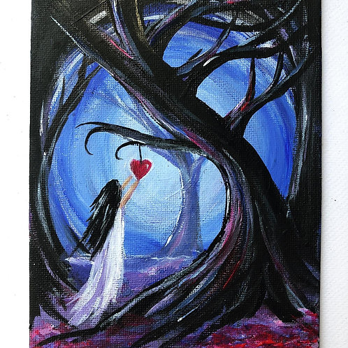 Path to Love Mini canvas