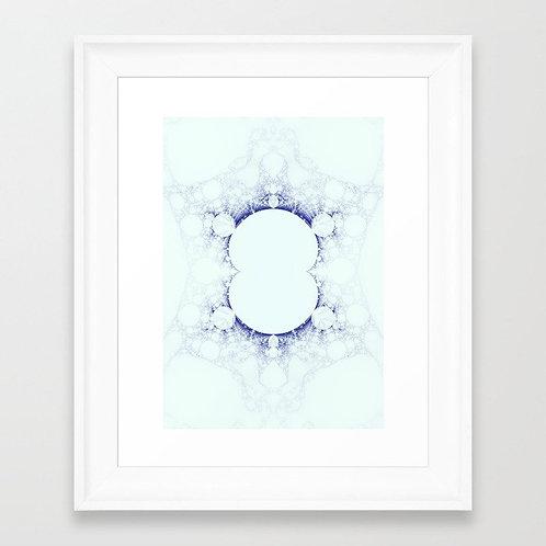 SNOW II - Giclée fine art print A3