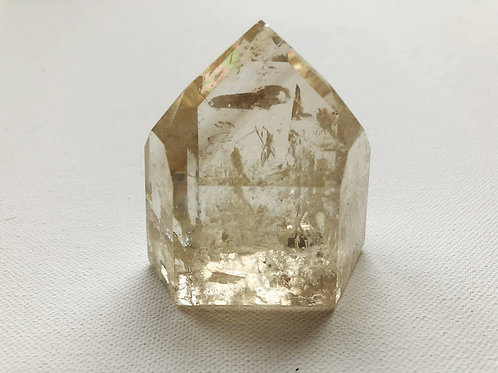 STUNNING LARGE DOW QUARTZ FULL OF RAINBOWS AND INCLUSIONS
