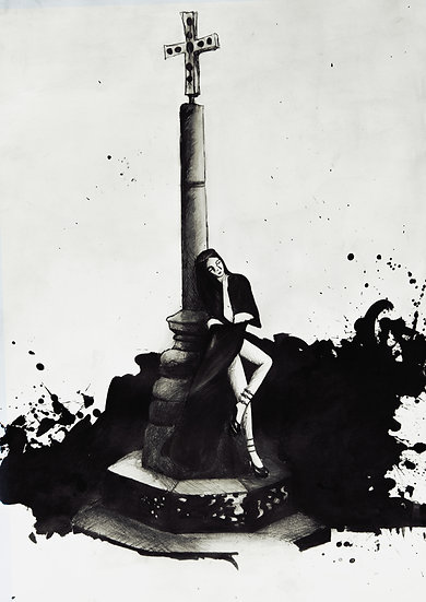 MARY MAGDALENE -  Giclée fine art print A3