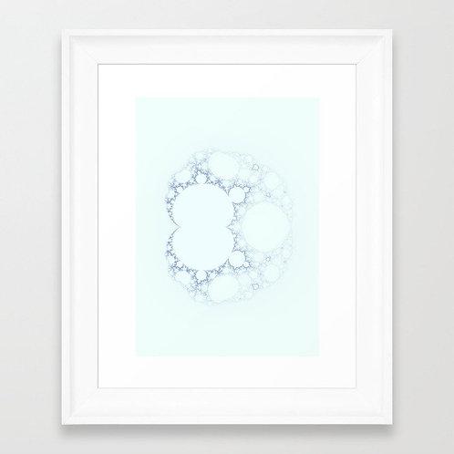 SNOW IV - Giclée fine art print A3