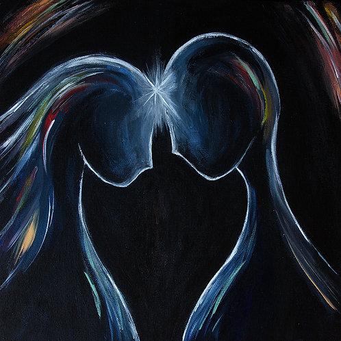 Telepathy - Acrylic on canvas