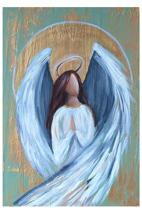 Angel I A4 canvas