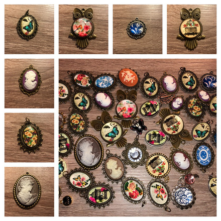brooch selection