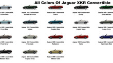 Jaguar Paint Codes