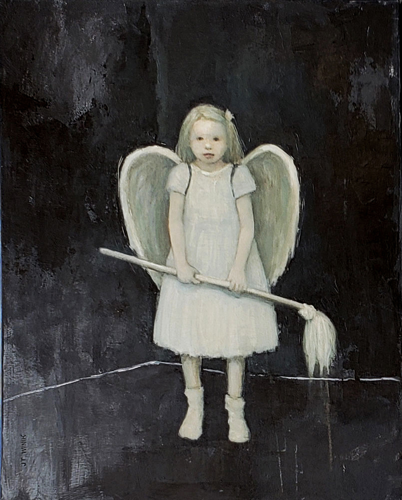 Angel with Mop