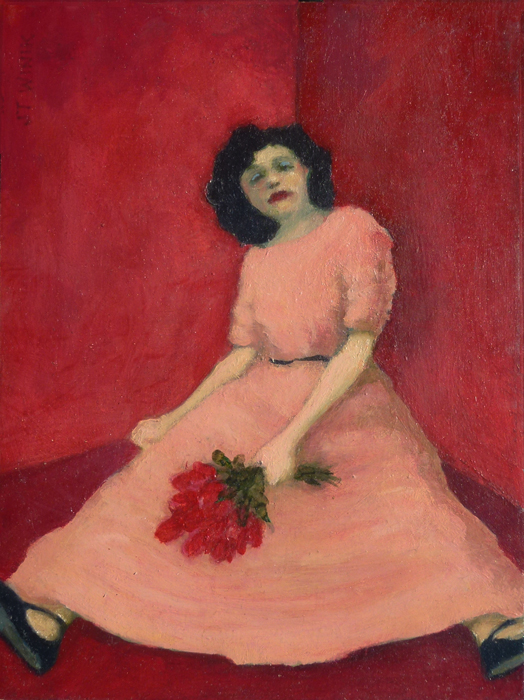 Girl in a Corner, Red Room