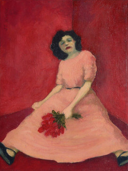 Girl in a Corner, Red Room