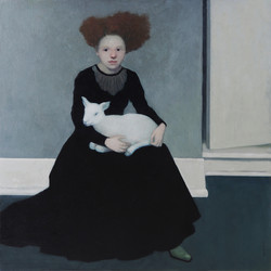 Woman with Lamb